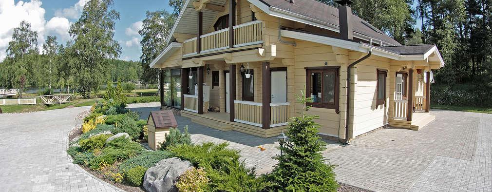 Casas de estilo rústico por Дмитрий Кругляк
