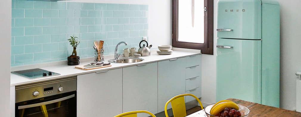 20 cocinas pequeñas y modernas ¡espectaculares!
