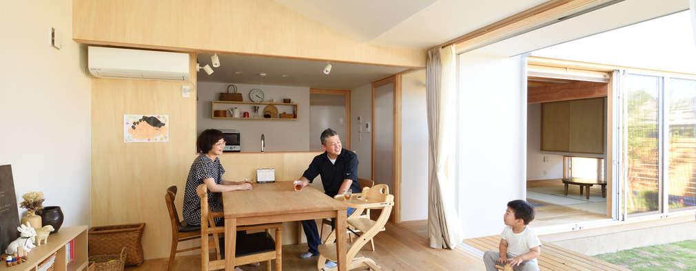 餐廳 by 加藤淳一級建築士事務所