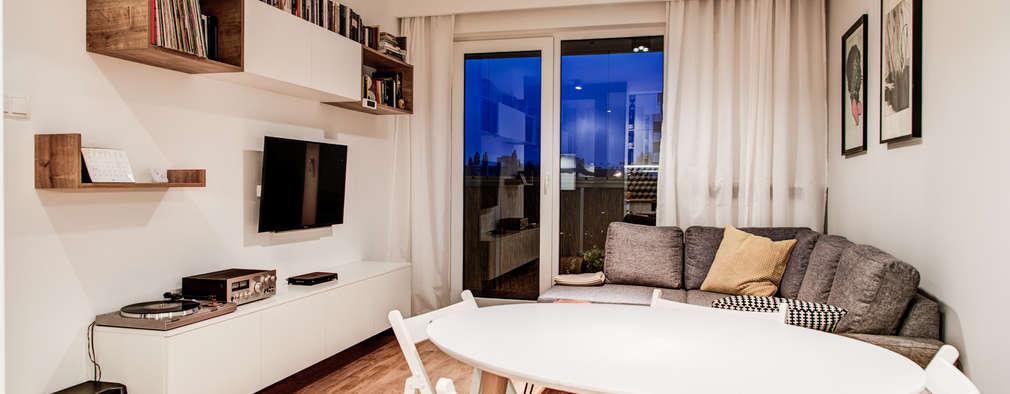 Salon de style de style Moderne par Perfect Space