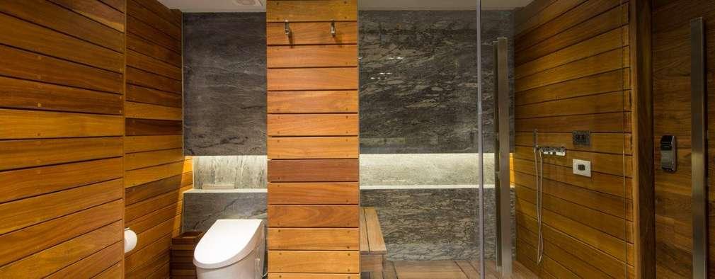 19 baños con madera que ¡te van a encantar!