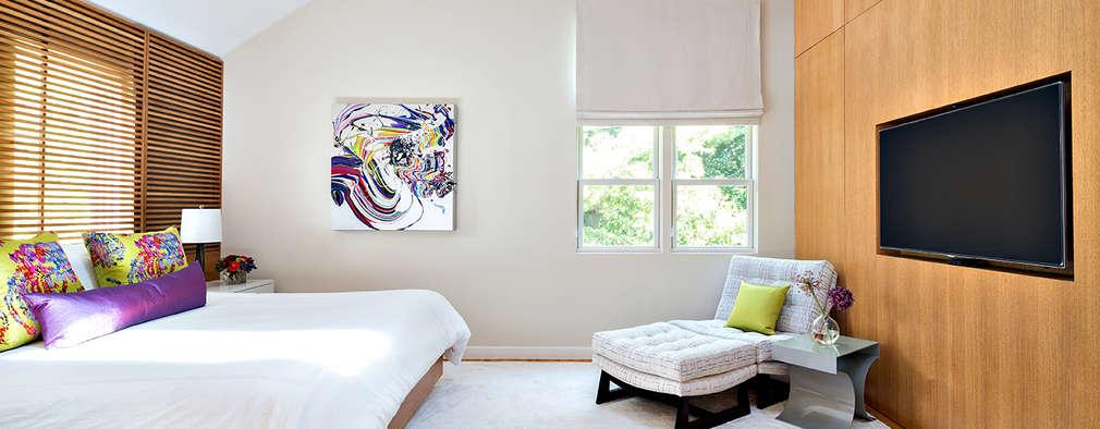 modern Bedroom by Clean Design