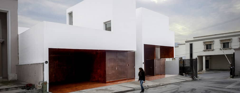 16 fachadas de casas modernas hechas por arquitectos mexicanos - Arquitectos casas modernas ...
