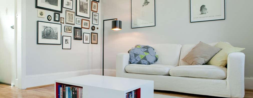 Salon de style de style Moderne par Brosh Architects