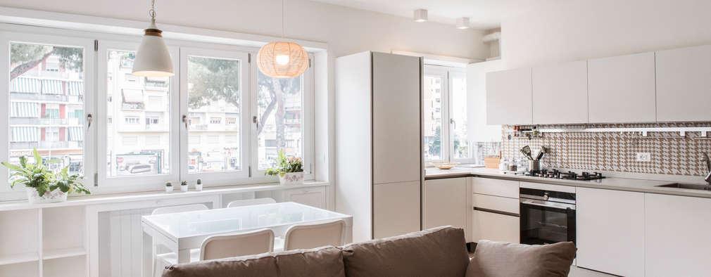 Comedores de estilo moderno por Archenjoy - Studio di Architettura -