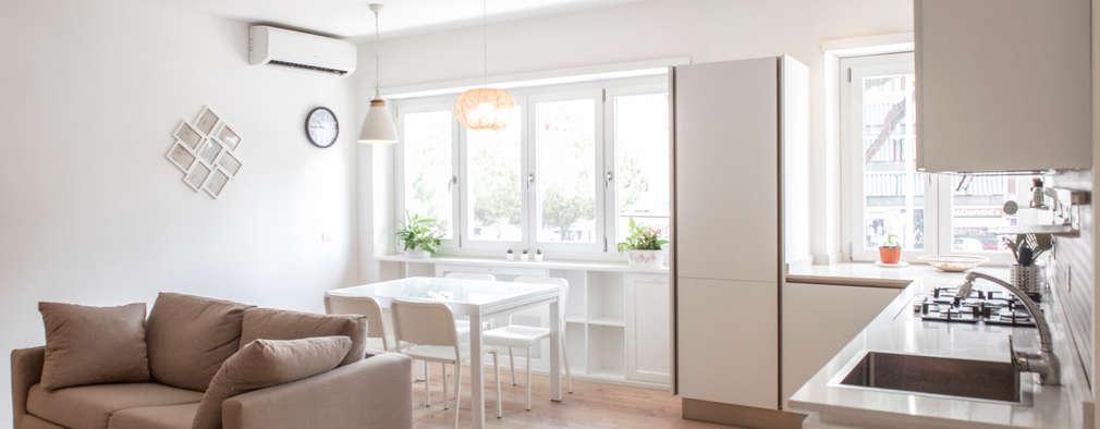 Archenjoy - Studio di Architettura - : modern tarz Yemek Odası