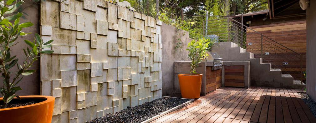 20 fuentes y muros llorones para tu jard n sensacionales - Fuente de pared para jardin ...