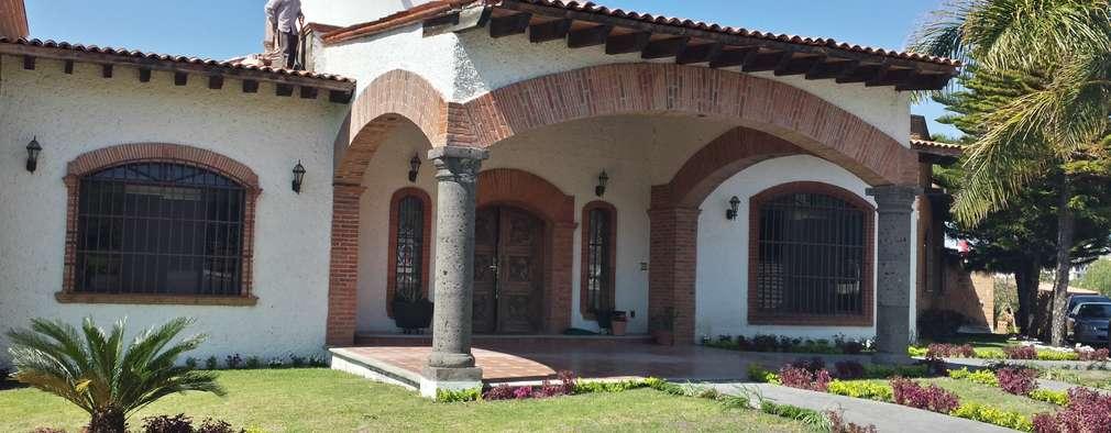 Casas unifamiliares de estilo  por NUV Arquitectura