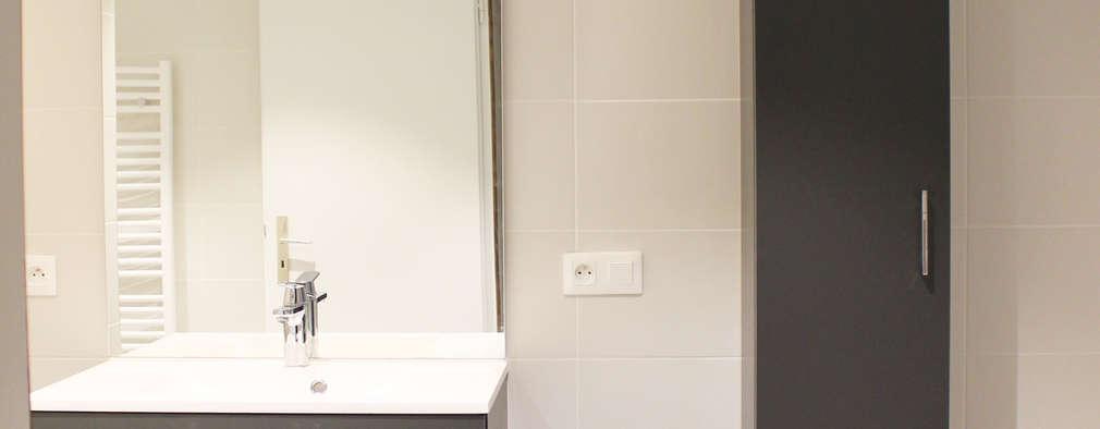 avant apr s la r novation d 39 une petite salle de bain strasbourg. Black Bedroom Furniture Sets. Home Design Ideas