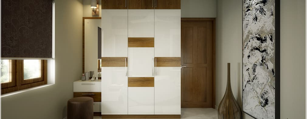 modern Bedroom by Premdas Krishna