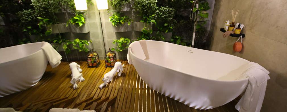 21 muur-ideeën voor een super unieke badkamer!