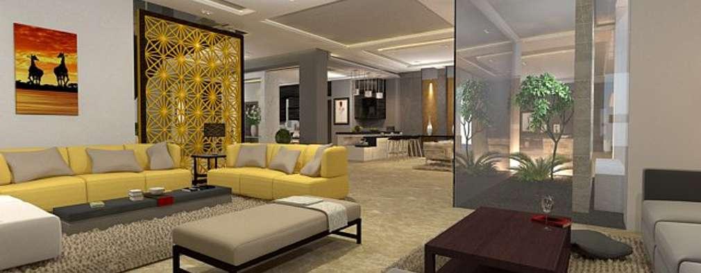 modern Living room by Ain Designs Studio