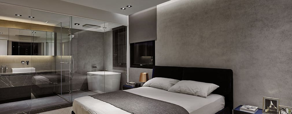 Bad en suite 26 inspirationen f r die wellness oase - Bad im schlafzimmer ...
