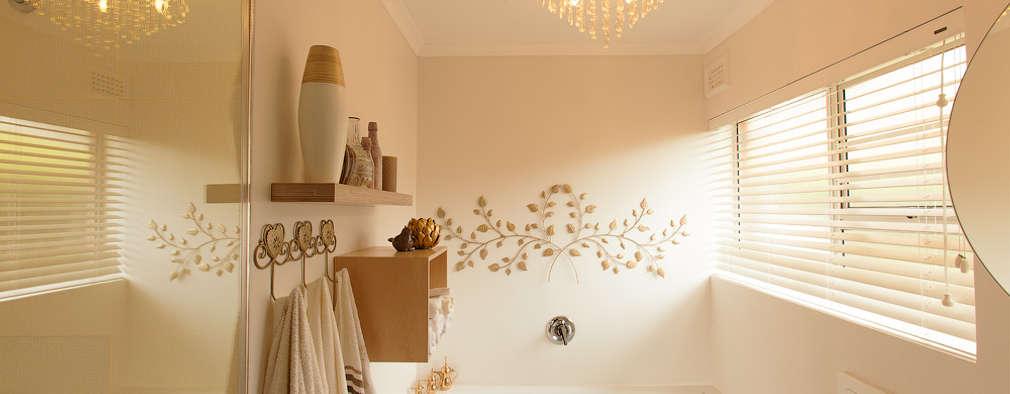 Projekty,  Łazienka zaprojektowane przez Redesign Interiors