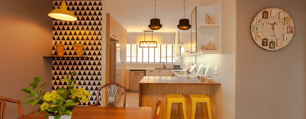 House B - House Design : eclectic Kitchen by Redesign Interiors