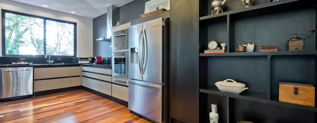 9 repisas de cocina que le tienes que mostrar a tu for Cocina estilo moderno