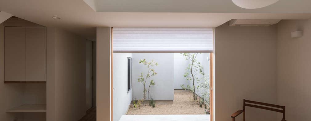 modern Living room by 安江怜史建築設計事務所