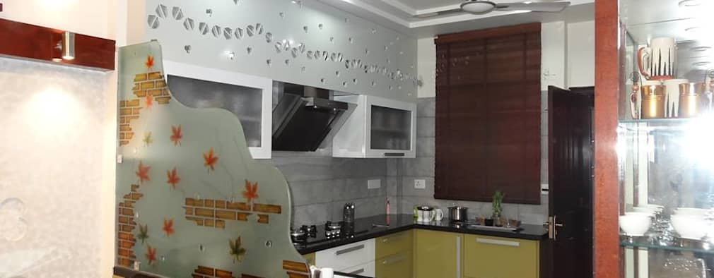 Villa Interiors At Ghaziabad Modern Kitchen By Ar Sandeep Jain