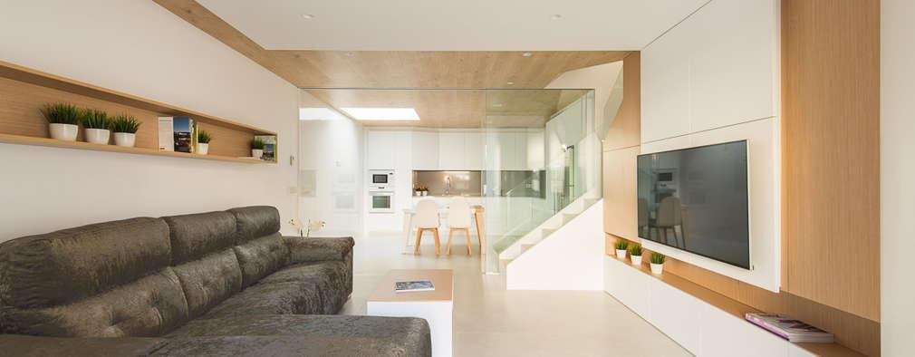 Projekty,  Salon zaprojektowane przez Pablo Muñoz Payá Arquitectos