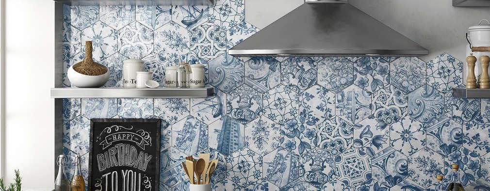 Кухни в . Автор – Equipe Ceramicas