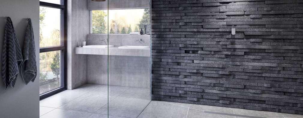 Bathroom CGI Visualisation #9: rustic Bathroom by White Crow Studios Ltd