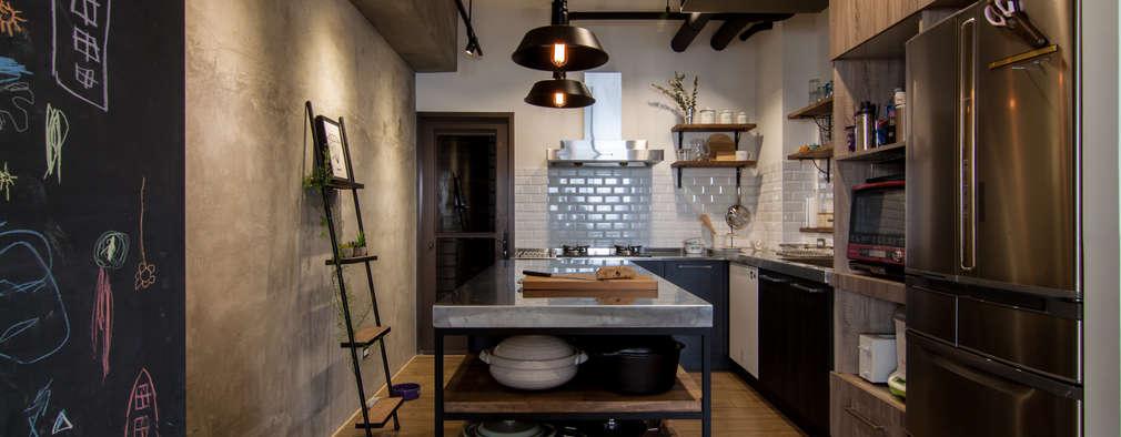 Nhà bếp by 珞石設計 LoqStudio