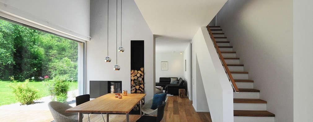 modern Dining room by GRIMM ARCHITEKTEN BDA