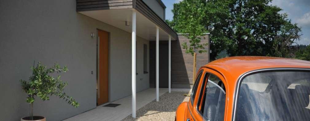 บ้านและที่อยู่อาศัย by GRIMM ARCHITEKTEN BDA