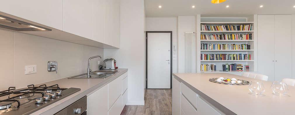 7 cocinas blancas para copiar en 2018