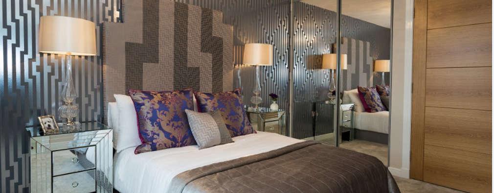 Projekty,  Sypialnia zaprojektowane przez Graeme Fuller Design Ltd