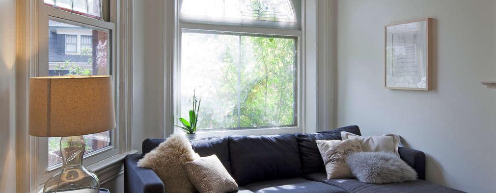Living Room: scandinavian Living room by STUDIO Z