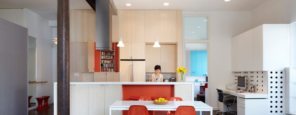 Bento Box Loft, Koko Architecture + Design: modern Kitchen by Koko Architecture + Design