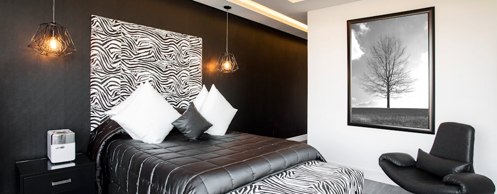 ULTRA MODERN RESIDENCE: modern Bedroom by FRANCOIS MARAIS ARCHITECTS