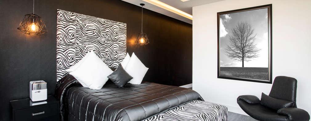 Projekty,  Sypialnia zaprojektowane przez FRANCOIS MARAIS ARCHITECTS