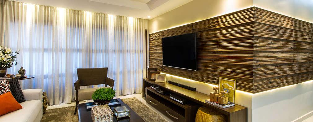 20 paneles para TV para salas grandes y pequeñas