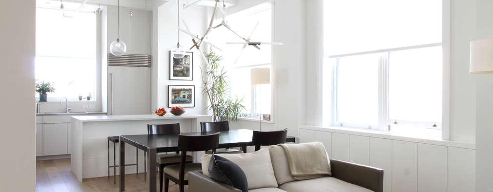 Chelsea Loft: modern Living room by Maletz Design