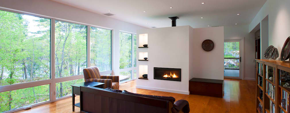 modern Living room by Solares Architecture