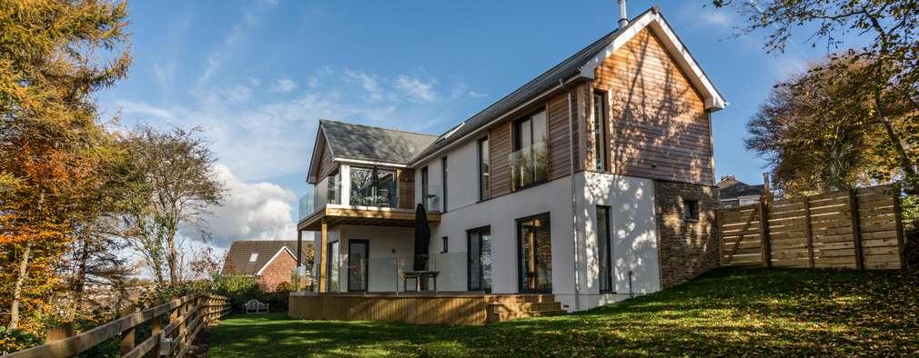 Projekty, nowoczesne Domy zaprojektowane przez Trewin Design Architects
