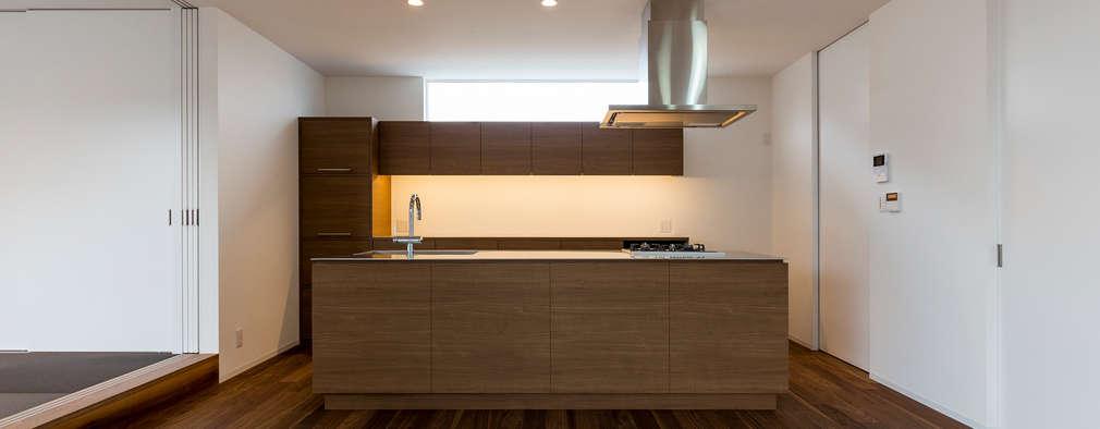 キッチン: 中村建築研究室 エヌラボ(n-lab)が手掛けたキッチンです。