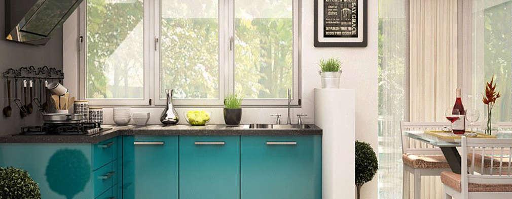 مطبخ تنفيذ CapriCoast Home Solutions Private Limited