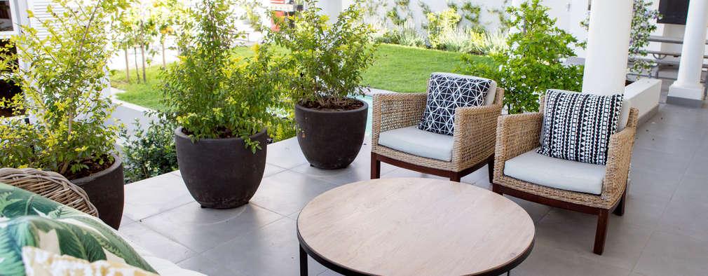House Oranjezicht:  Patios by ATTIK Design