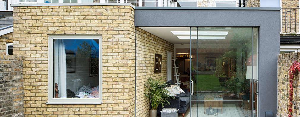 Maida Vale Extensions: modern Garden by Guttfield Architecture