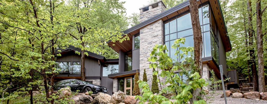 Mad River Chalet: modern Houses by BLDG Workshop Inc.