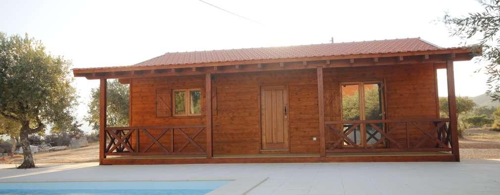 country Houses by ECOSITANA - Casas de Madeira Portugal