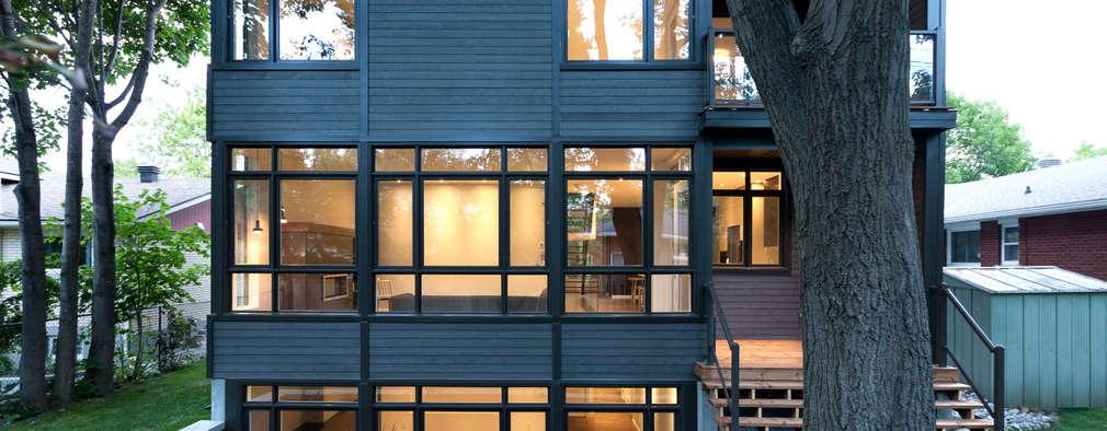 Projekty, nowoczesne Domy zaprojektowane przez Jane Thompson Architect