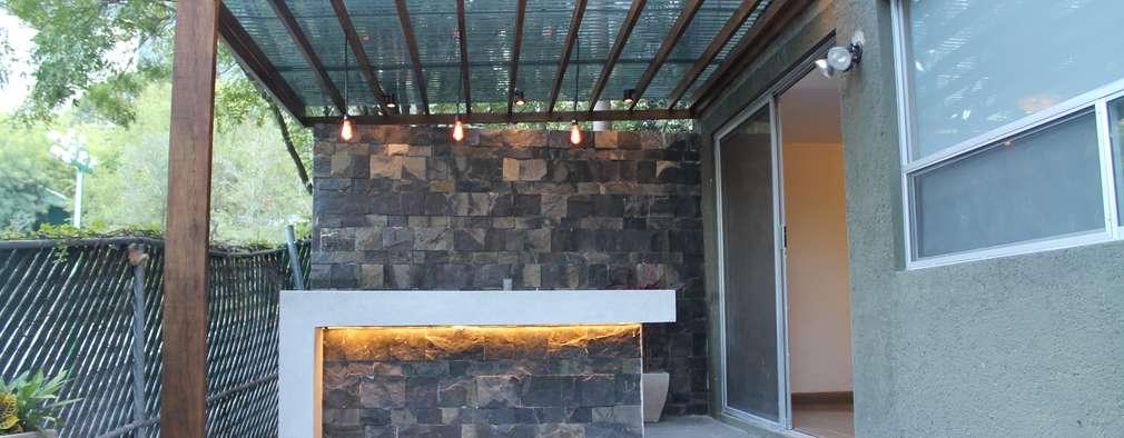 13 ideas para iluminación paredes con nichos