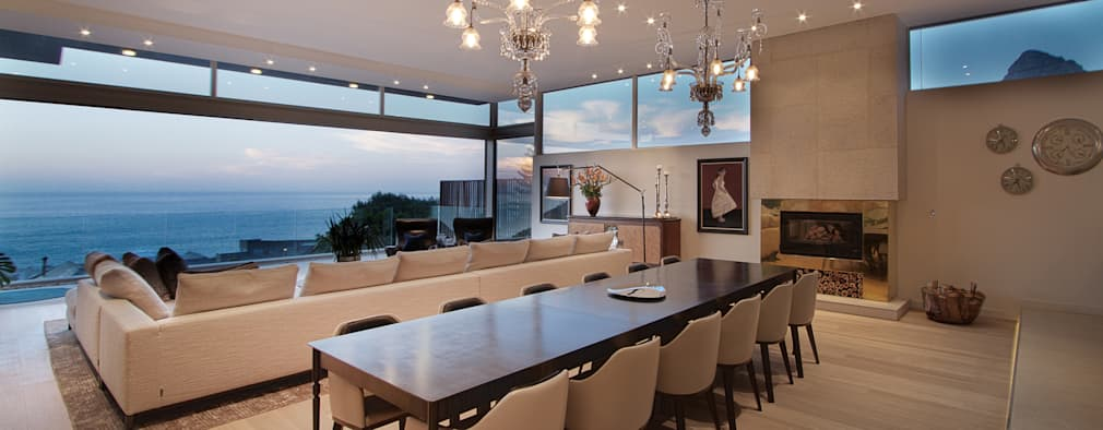 Hove Road : modern Dining room by Make Architects + Interior Studio