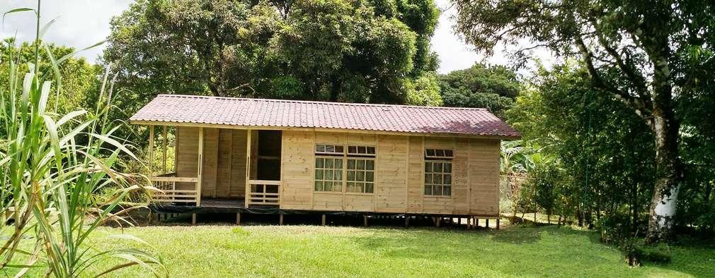 Construir cabaa de madera finest madera para construir - Pasos a seguir para construir una casa ...
