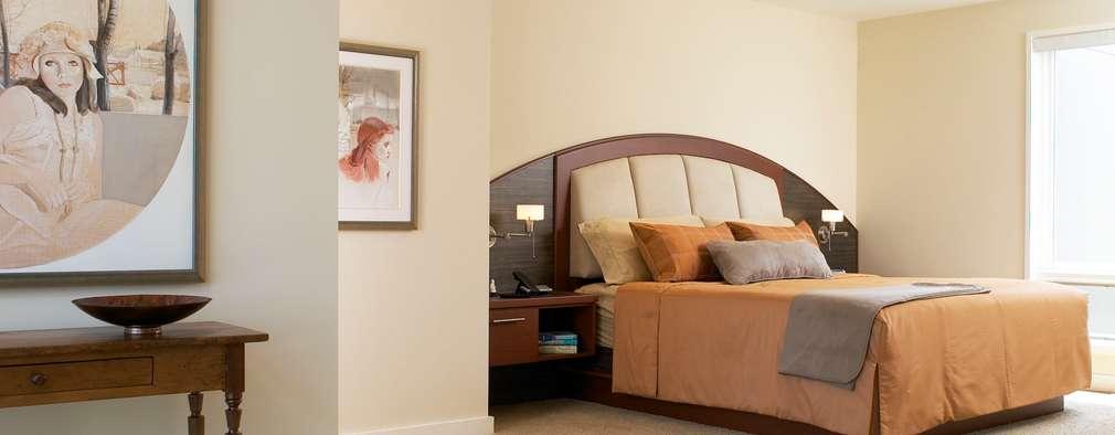 Benchscape: modern Bedroom by Lex Parker Design Consultants Ltd.