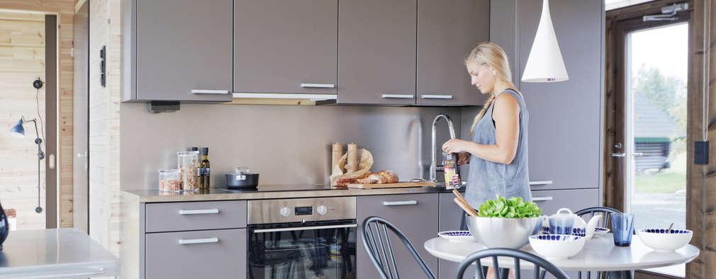 Кухни в . Автор – Woody-Holzhaus - Kontio